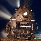 Pere Marquette 1225 at Night by Darryl Wattenberg