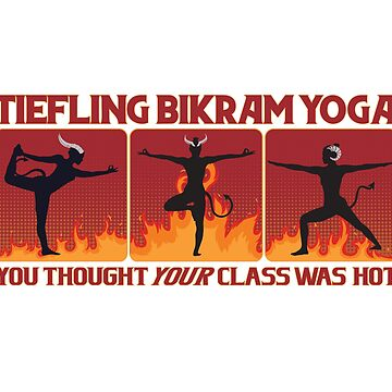 Tiefling Yoga by KennefRiggles