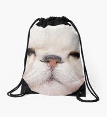 Faces Drawstring Bag