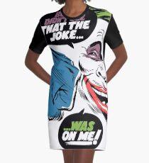 No Joke Graphic T-Shirt Dress