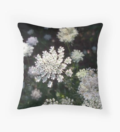 Lacy Day Throw Pillow