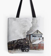 Pere Marquette 1225 Passes the Michigan Bean Company Tote Bag