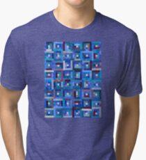 Blue Note Quilt Tri-blend T-Shirt