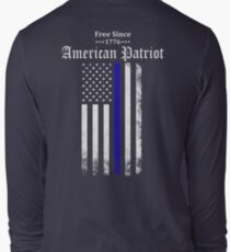 Free Since 1776 - American Patriot Long Sleeve T-Shirt