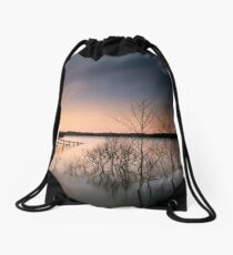 Fence Drawstring Bag