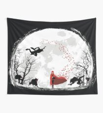 RWBY Moon Wall Tapestry