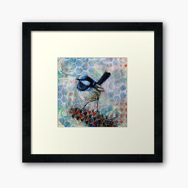 Superb Blue Boy Framed Art Print
