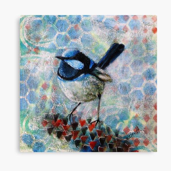 Superb Blue Boy Canvas Print