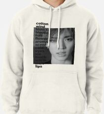 NCT Baby Don't Stop (Taeyong) Lyric Pullover Hoodie