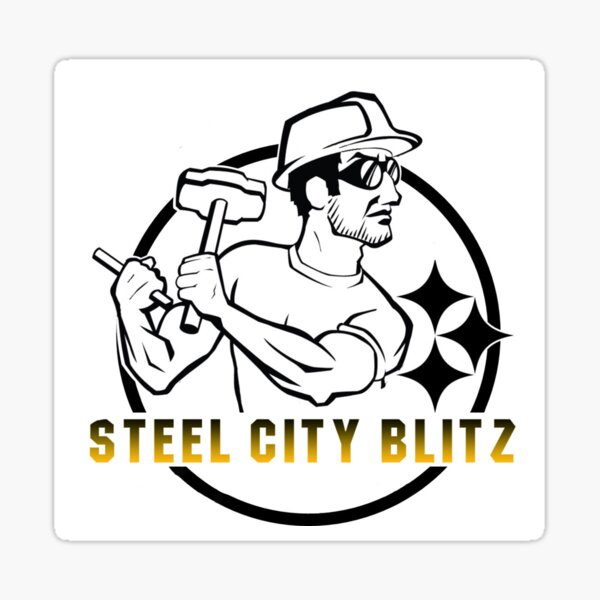 Steel City Blitz Logo #2 Sticker