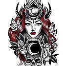 Wicked woman by KrissyTattoos03