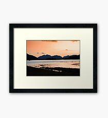 Scenic Relaxation Framed Print