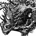 Dragon Machine [Digital Fantasy Illustration] by Grant Wilson