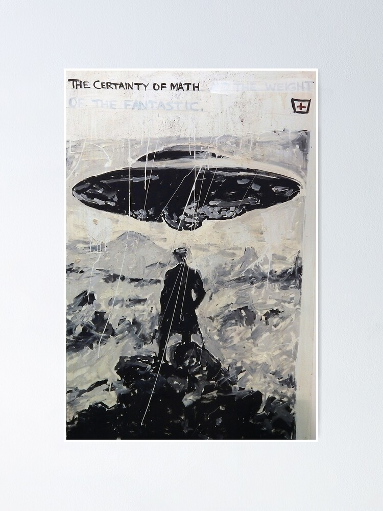 Alternate view of The Certainty of Math (poster) Poster