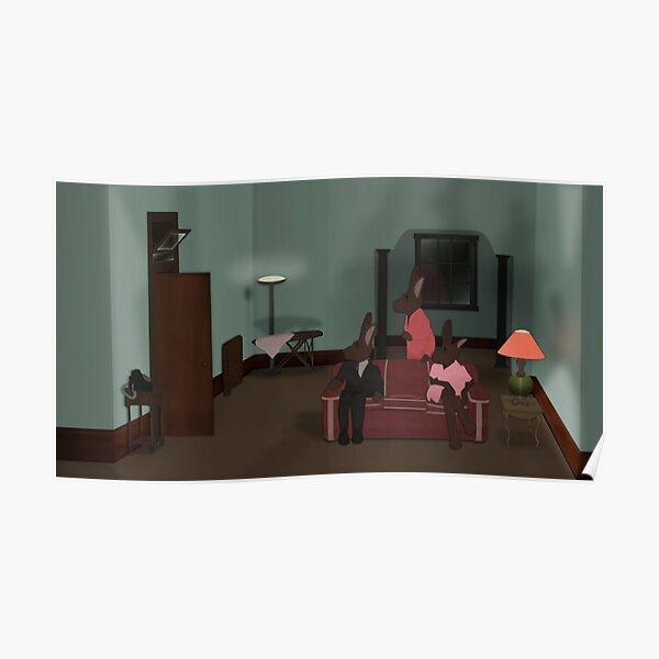 Bunnies - Who's at the Door? Poster