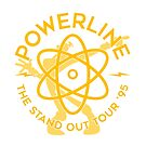 Powerline - Yellow Tour Logo by BelvedereAve