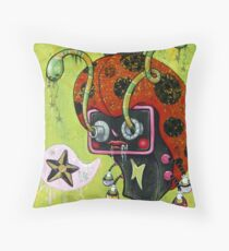 Charged Up Throw Pillow