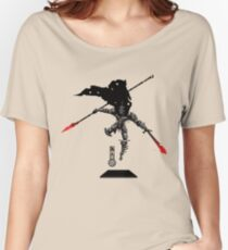 The Game of Kings, Wave Three: The Black King-Knight's Pawn Women's Relaxed Fit T-Shirt