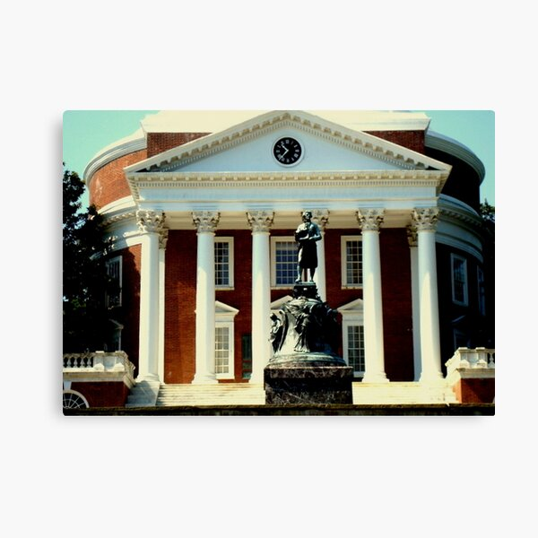 UVa Campus - The Rotunda Canvas Print