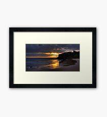 Tynemouth Sunrise Framed Print