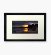 Tynemouth Sunrise Framed Print