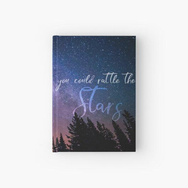 RATTLE THE STARS (sky) Hardcover Journal