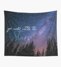 RATTLE THE STARS (sky) Wall Tapestry