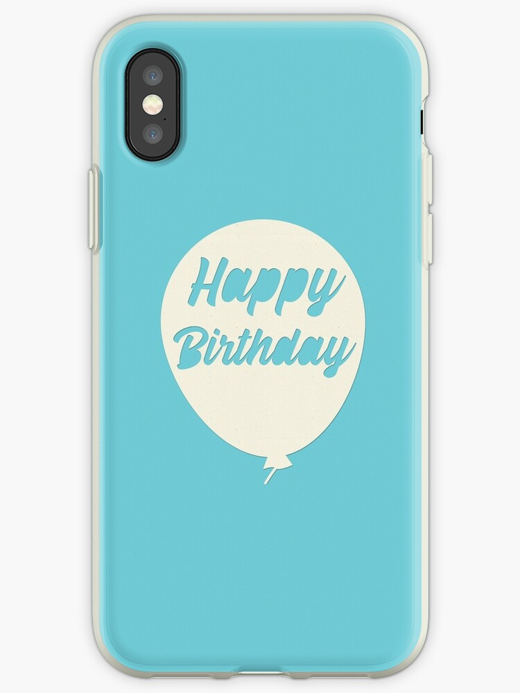 Happy Birthday Balloon IPhone Cases Covers By YourPrintable