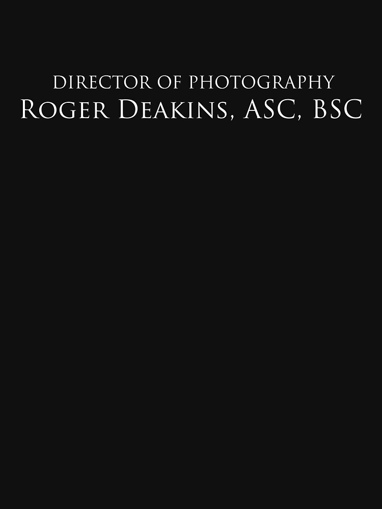 No Country For Old Men | Director of Photography, Roger Deakins by directees