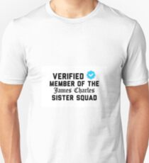 Verified James Charles Sister Unisex T-Shirt