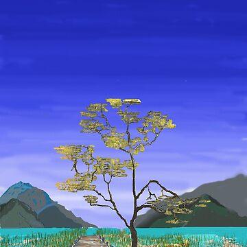 The Lone Tree by Junkart58