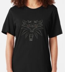 Witcher Schule des Wolfes Slim Fit T-Shirt