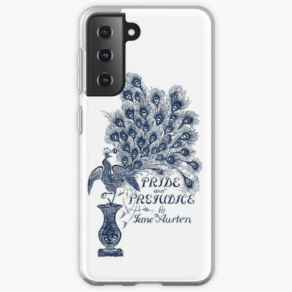 Orgueil et préjugés par Jane Austen Peacock Cover Coque souple Samsung Galaxy
