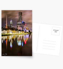 Melbourne icons Postcards