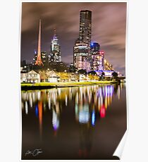 Melbourne icons Poster