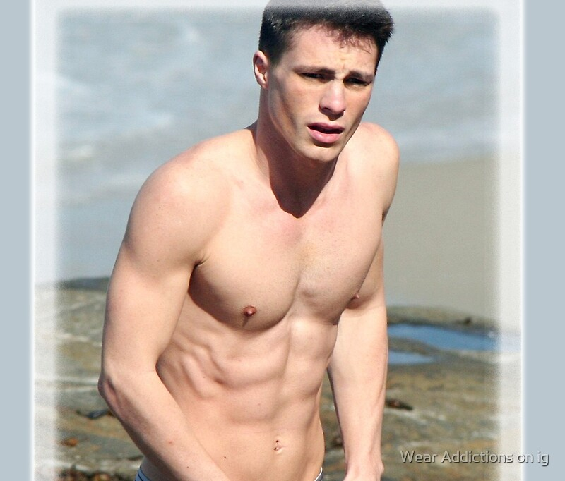 colton haynes hot shirtless travel mugs by daylightring