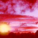 Crimson sky by Neophytos