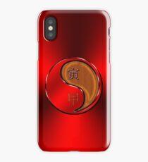 Tiger Yang Wood  iPhone Case/Skin