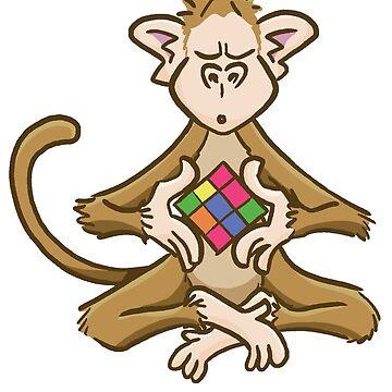 Zen Monkey by dgilbert
