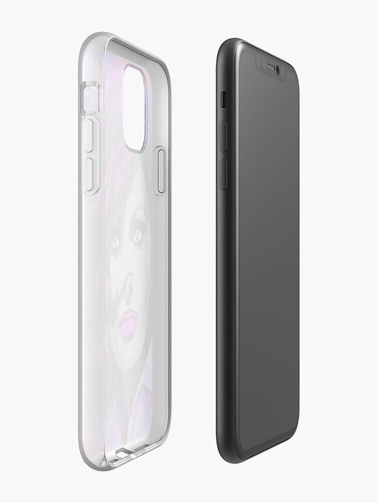 Coque iPhone «BEAUTÉ INTEMPORELLE», par Azzurra