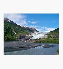 Exit Glacier Photographic Print