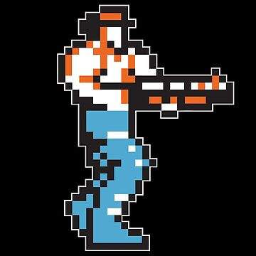 CONTRA Player 1 Commando by WhyTee1300
