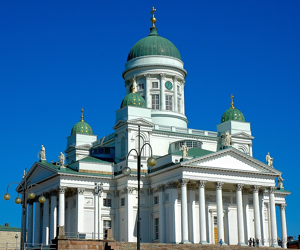 "Temples - ""The Helsinki Cathedral (FI)"" by Denis Molodkin"