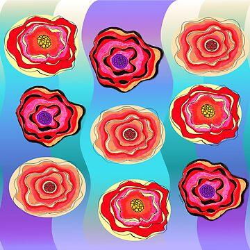 Flower Psycho Bloom by susanchristophe