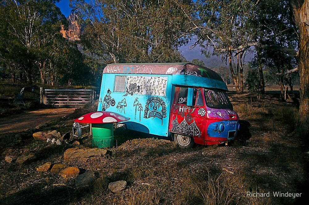 A Taste of Hippyville, Glen Davis, NSW by Richard  Windeyer