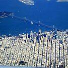 San Francisco from the Air by Igor Pozdnyakov