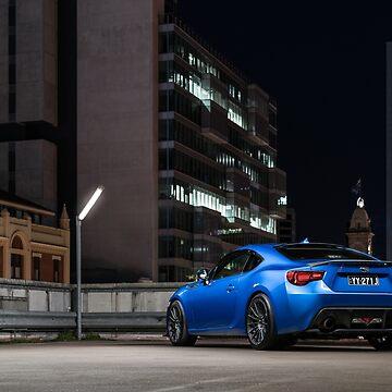 Toyota 86 - Blue Subaru BRZ by tjbphoto