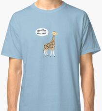 Giraffes are cool Classic T-Shirt