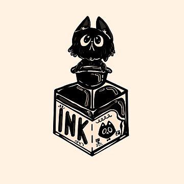 Kitty Ink by fluffymafi