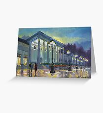 Germany Baden-Baden Casino Greeting Card